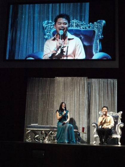 Hosted Singapore FIRST LIVE internet radio's birthday bash on July 2012.