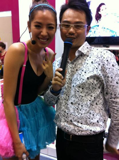 Hosted Taiwan famous show, 女人我最大 in Malaysia, KL