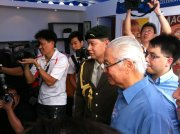 Singapore President Dr Tony Tan